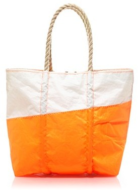 Angela Adams® and Sea Bags for J.Crew dipped sail bag
