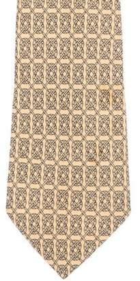 Hermes Fers en Vrac Silk Tie