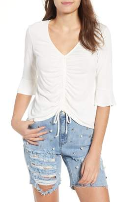 Mimichica Mimi Chica Cinch Front Tee