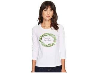 Tommy Bahama Happy Hula Days 3/4 Sleeve Tee Women's T Shirt