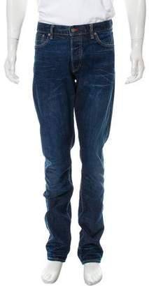 Ralph Lauren Black Label Ignite Blue Straight-Fit Jeans