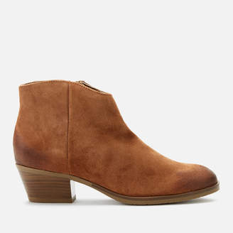 03cfe8155f0 Tan Heeled Ankle Boots - ShopStyle UK