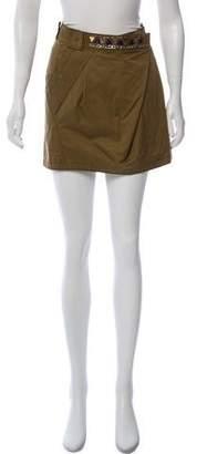 Philosophy di Alberta Ferretti Embellished Mini Skirt