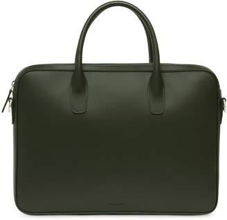 Mansur Gavriel Calf Small Briefcase - Moss