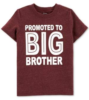 Carter's Toddler Boys Big Brother-Print T-Shirt