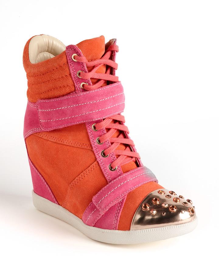 Boutique 9 Nevan Suede Wedge Sneakers
