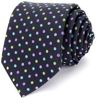 Ted Baker Multi Colored Dots Neat Classic Tie $95 thestylecure.com