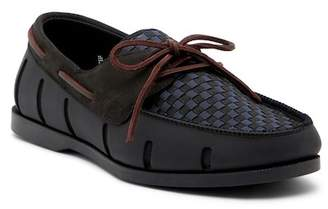 Swims Woven Boat Loafer