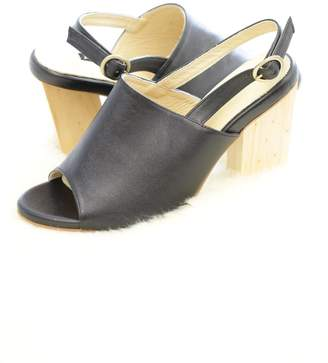 Mae Be Shoes Alex Wooden Heel