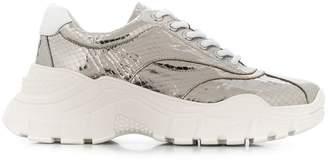 Twin-Set chunky metallic sneakers