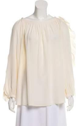 Sonia Rykiel Silk Long Sleeve Top Silk Long Sleeve Top