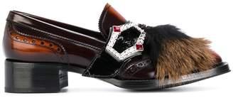 Prada buckled loafers