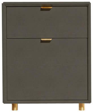 Blu Dot Dang 2 Drawer File Cabinet