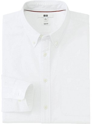 Men Oxford Slim Fit Long Sleeve Shirt $29.90 thestylecure.com