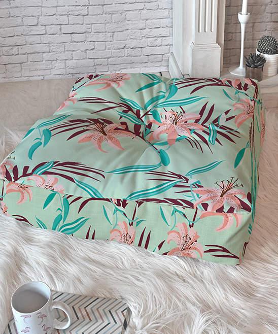 Holli Zollinger Tigerlily Floor Pillow