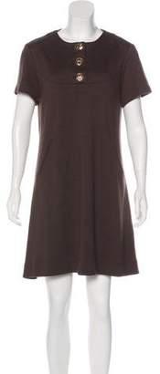 Tory Burch Wool-Blend Shift Dress