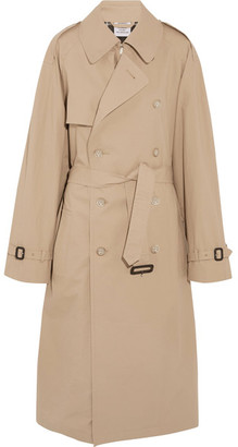 Vetements - Mackintosh Oversized Cotton Trench Coat - Beige $4,095 thestylecure.com