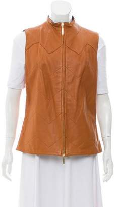 Tory Burch Lightweight Leather Vest