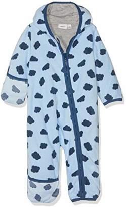 527f5bc89 Name It Baby Boys' NBMMARVEL Fleece Suit Snowsuit, Multicolour Skyway
