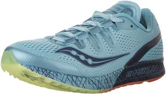 Saucony Women's Freedom ISO Running Shoes, Blue/Citron