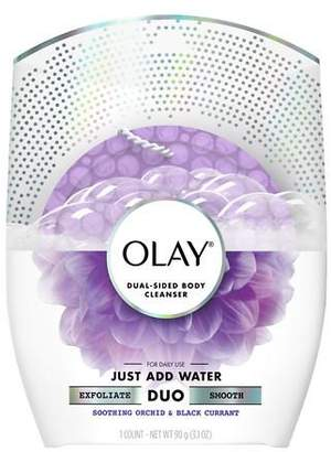 Olay Body Cleansing Buffer Duo Soothing Orchid & Black Currant