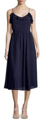 Vero Moda Night Free Tie-Strap Ruffle Dress