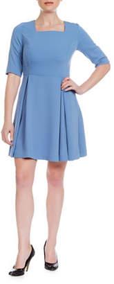 SONIA ARORA DESIGNS A-Line Faille Dress