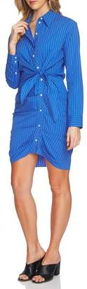 1 STATE 1.STATE Ruched Button Down Shirtdress