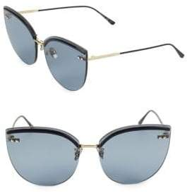 Bottega Veneta DNA 62MM Cat Eye Sunglasses