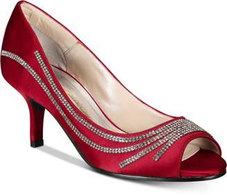 Caparros Oz Peep-Toe Evening Pumps Women Shoes