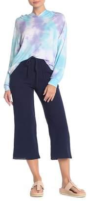 GOOD LUCK GEM High Waisted Crop Pants