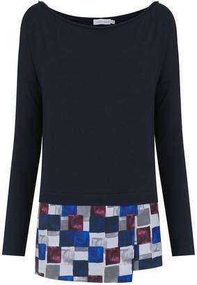 M·A·C Mara Mac overlay blouse