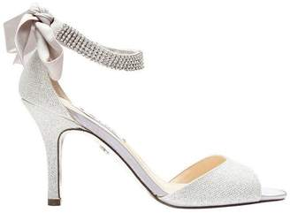 Nina Vinnie Silver Bliss Satin Sandal