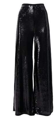 Wallis Petite Black Sequin Wide Leg Trouser
