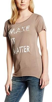 Kaffe Women's T-Shirt - Grey