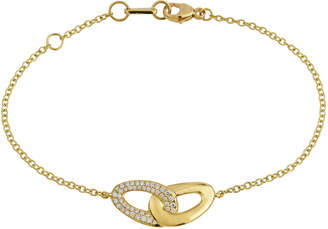 Ippolita 18K Cherish Diamond Pave Links Bracelet