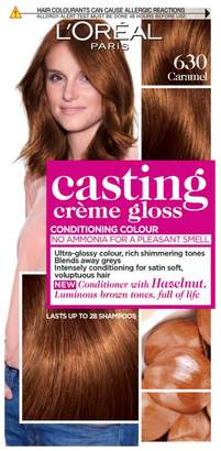Casting Creme Gloss 630 Caramel Light Brown Semi Permanent Hair Dye