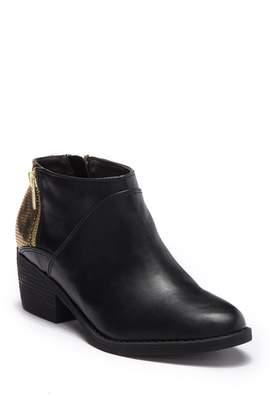 BC Footwear Union Zip Bootie
