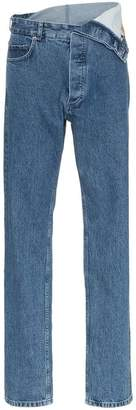 Y/Project Y / Project high waisted straight leg denim jeans