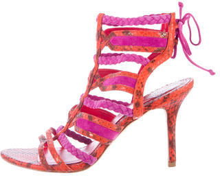 Brian Atwood Elisa Braided Sandals $130 thestylecure.com
