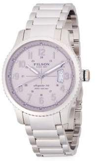 Filson Mackinaw Stainless Steel Bracelet Watch