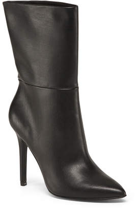 Pointed Toe Stiletto Heel High Ankle Booties