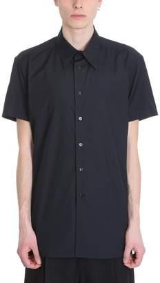 Raf Simons Black Cotton Shirt