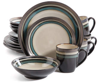 Three Posts Lakemore 16 Piece Dinnerware Set, Service for 4