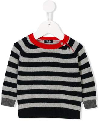 Il Gufo striped crewneck jumper