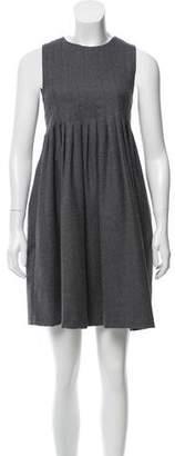 Behnaz Sarafpour Wool Mini Dress