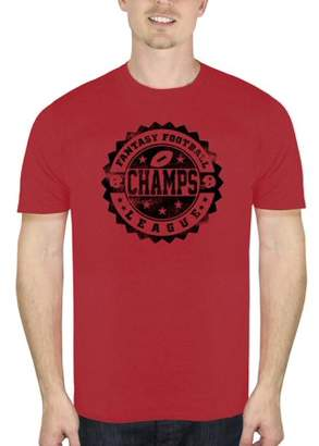 Sports Football Champs Men's Graphic T-shirt, up to Size 3XL