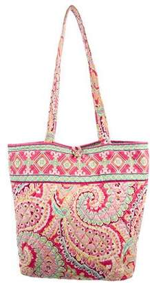 Vera Bradley Quilted Shopper Tote