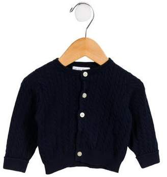 Ralph Lauren Boys' Cable Knit Button-Up Cardigan