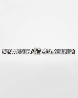 Express Small Square Buckle Belt